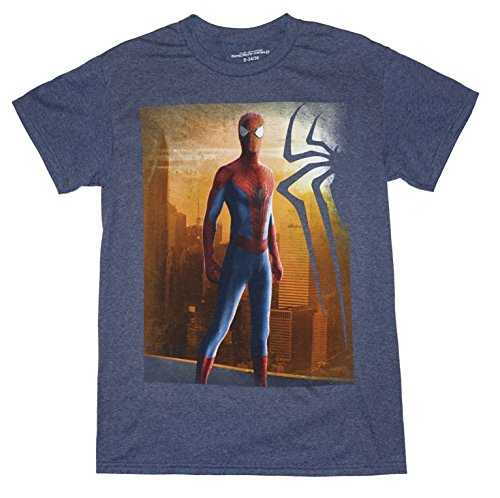 Marvel Comics The Amazing Spider-man 2 Mens Graphic Tee T-Shirt Top (Small 34/36)