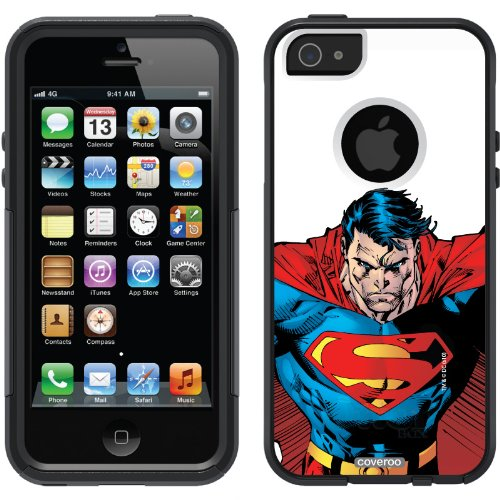Best Price Superman - Closeup design on a Black OtterBox® Commuter Series® Case for iPhone 5s / 5