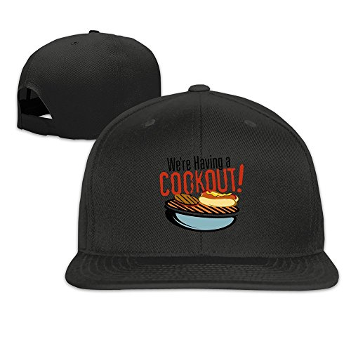 Runy Custom Community BBQ Adjustable Baseball Hat & Cap Black (Sf Giants Bbq Apron compare prices)