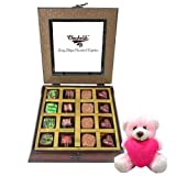 Valentine Chocholik Premium Gifts - Ambrosial Sweet Memories With Teddy