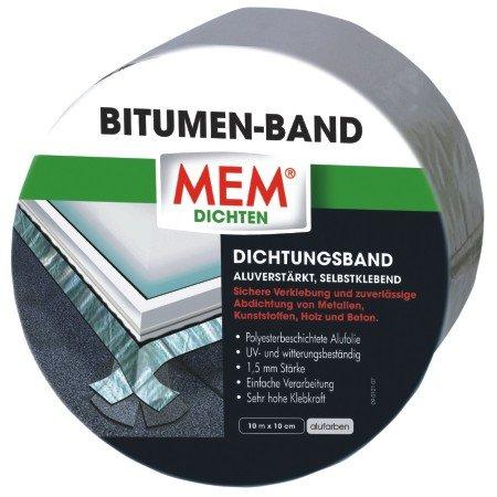 mem 500481 bitumen band 10m x 100 mm alu. Black Bedroom Furniture Sets. Home Design Ideas