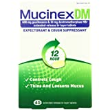 Mucinex  DM Extended-Release Bi-Layer Tablets, 40 Count ~ Mucinex