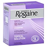 Rogaine Women's Hair Regrowth Treatment, Unscented, 3 ct.