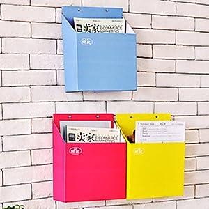 Diy hanging paper magazine storage box for Diy magazine box