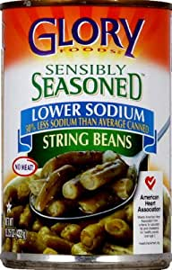 Glory Foods Sensibly Seasoned String Beans (Case of 12)