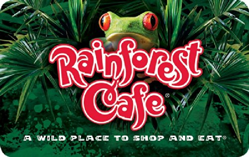 Rainforest Cafe $50 Gift Card (The Gift Of Rain compare prices)