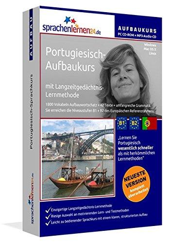 Sprachenlernen24.de Portugiesisch-Aufbau-Sprachkurs: PC CD-ROM für Windows/Linux/Mac OS X + MP3-Audio-CD für MP3-Player. Portugiesisch lernen für Fortgeschrittene.