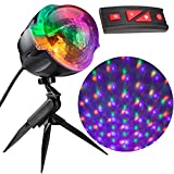Gemmy Light Show Points of Light Halloween Projector with Wireless Remote (Color: multi)