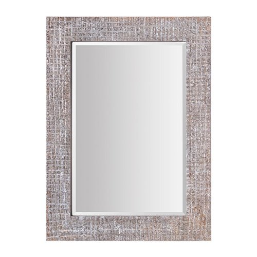 Ren-Wil Mt1327 Canyon Wall Mount Mirror By Jonathan Wilner, 46 By 34-Inch