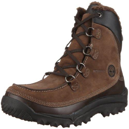 Timberland Men's Rime Ridge Premium Waterproof Snow Boot,Dark Brown,7.5 M US