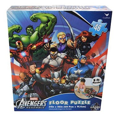 Avengers-Assemble-Floor-Puzzle-24in-X-36in-3-Foot-Puzzle
