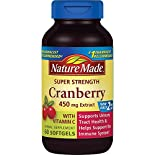 Nature Made Cranberry Extract, Super Strength, 450 mg, Softgels, 60 softgels