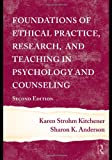 img - for Foundations of Ethical Practice, Research, and Teaching in Psychology and Counseling book / textbook / text book