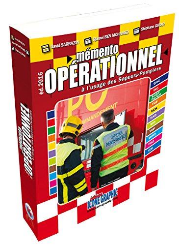 Livre Mémento opérationnel à l'usage des sapeurs-pompiers - Format de poche