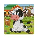 BlueSterCool De madera para niños de rompecabezas Juguetes para niños Educación y el aprendizaje Rompecabezas Juguetes (KW813)
