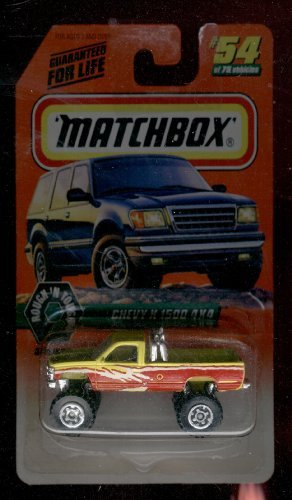 Matchbox 1997-54 of 75 Rough 'N Tough Chevy K-1500 4x4 Series 7 1:64 Scale
