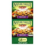 Nature Valley Chewy Trail Mix Fruit and Nut Bar 30 g (Pack of 18)