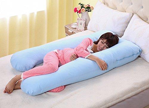 eight24hours-large-u-shaped-contoured-body-pregnancy-nursing-maternity-pillow-cozy-comfort-blue