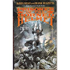 Prisoner of the Horned Helmet (Death Dealer) by Frank Frazetta and James R. Silke