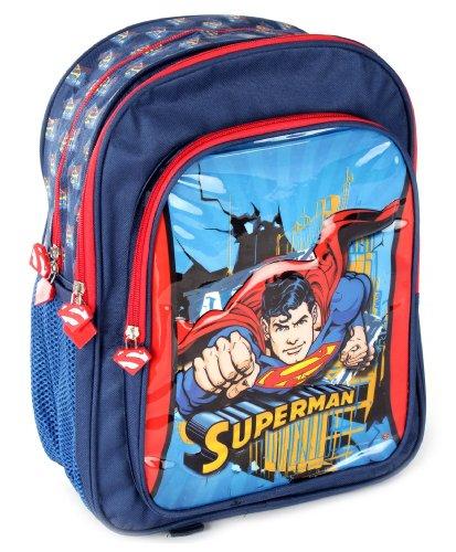 "Superman Superman School Bag Flying - 16\"""