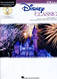 Hal Leonard Disney Classics Instrumental Play Along Book & CD Cello (Cello)