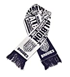 West Bromwich Albion - Authentic Fan Scarf, Ships from USA
