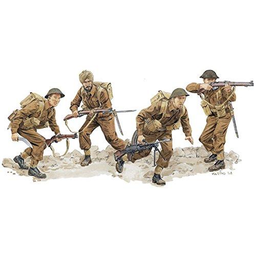 1/35 WW.II イギリス軍 グルカ兵&インド兵 モンテカッシーノ 1944