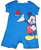 Disney Mickey Mouse Standing Baby Boys Romper - Royal Blue