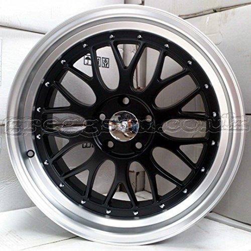 2-x-roues-en-alliage-BBS-LM-style-noir-mat-19-x-85-Vernis--Lvres-greggson-gg-69-cc
