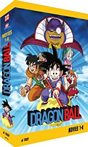 Dragonball - Movies 1-4 [4 DVDs]