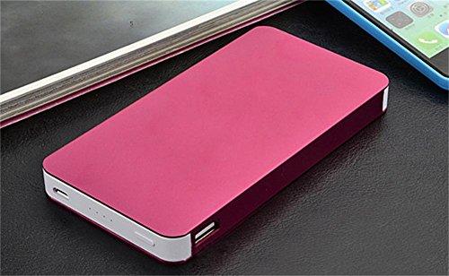 Generisches 50000mAh Dual USB Output-Energien-Bank-Ladegerät External Battery Pack für iPhone Samsung HTC und Most Weitere Smartphones (rot)