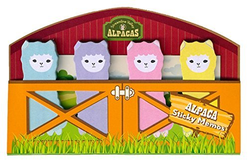 Sticky Memos Streamline Valley Alpacas