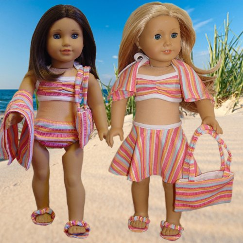 piece Swimsuit American Doll Clothes
