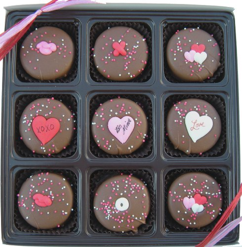 Valentine's Day Gift Box Of 9 Milk Chocolate