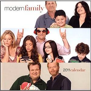Modern Family Wall Calendar 2011