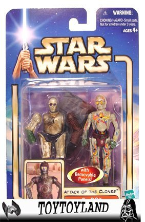 Star Wars Blue Saga: AOTC C-3PO WITH Backdrop - 1