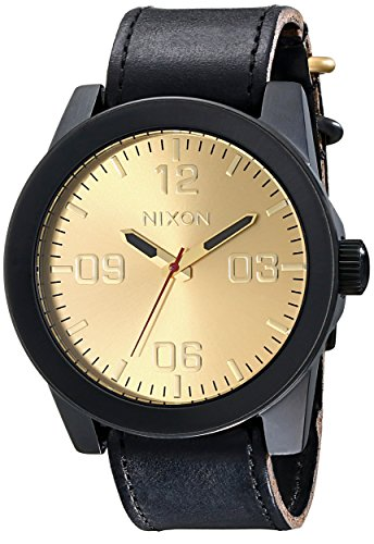 Reloj Nixon The Corporal A243010 Hombre Dorado