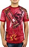 Affliction Mens Edge T-Shirt XXXL Red