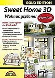 Software - Sweet Home 3D Wohnungsplaner - Premium Edition mit zus�tzlichen 1.100 3D Modelle und gedrucktem Handbuch, ideal f�r die Architektur, Haus und Wohnplaner - f�r Windows 10-8-7-Vista-XP & MAC