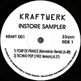 Instore Sampler : Tour De France (Kervorkian Remix), Techno Pop (1983 Version) ,Radioactivity (Kervorkian Remix) , The Model (Carbonic Mix) Uk Dj 12