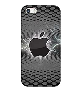 Mental Mind 3D Printed Plastic Back Cover For Iphone 5 - 3DIP5-G704
