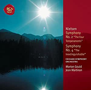 "Symphonie N°2 ""The Four Temperaments"" - Symphonie N°4 ""The Inextinguishable"""