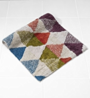Clerkenwell Triangles Bath & Pedestal Mats