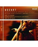 Mozart: Vesperae Solennes de Confessore, K.339 etc