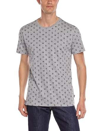 WeSC - T-Shirt - Homme - Gris (Grey Mélange) - L
