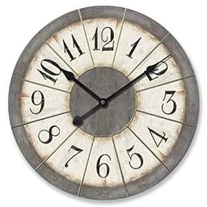 Ashton Sutton Large Wall Clock Home Kitchen