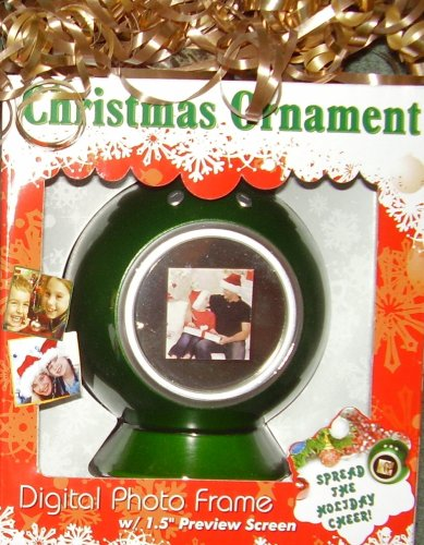 Christmas Ornament Digital Photo Frame (Phot Display compare prices)
