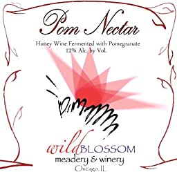 NV Wild Blossom Meadery & Winery Pome Nectar Mead 750 mL