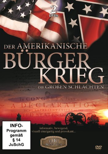 der amerikanische b rgerkrieg die gro en schlachten 2 dvds. Black Bedroom Furniture Sets. Home Design Ideas