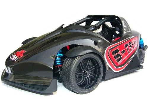 S-TRYK-R PRO ~ Brushed 3-WHEEL Road RC Car ~ 1/10 Scale